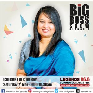 Shiranthi Cooray On the Big Boss Show On Legends 966