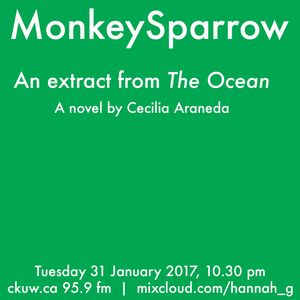 Cecilia Araneda reads from her novel,'The Ocean'