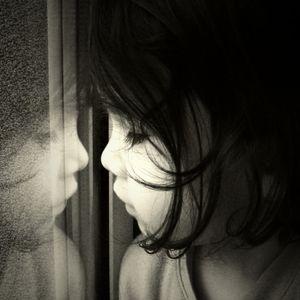 Mara Konci - Girl in a window