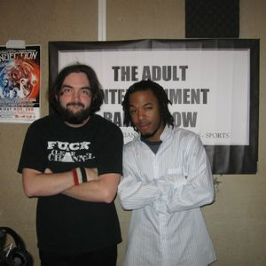 Full Adult Entertainemt Radio Show Episode With guests artist Row Jones and comedian Brett McCabe