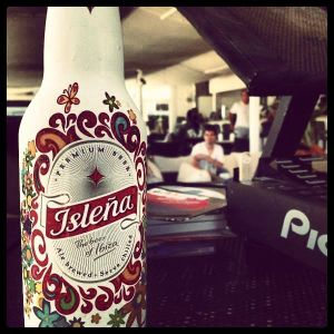 IGOR MARIJUAN & CLARA DA COSTA / Sands 100% Ibiza with Beer Isleña / 12.08.2013 / Ibiza Sonica