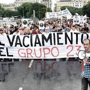 Alejandro Wall (delegado de Tiempo Argentino) sobre el conflicto laboral en el Grupo 23