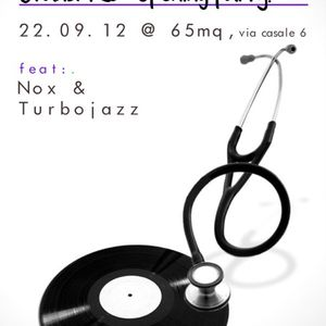 """The Specialists"" Nox + Turbojazz @ 65mq Milano sep 2012"