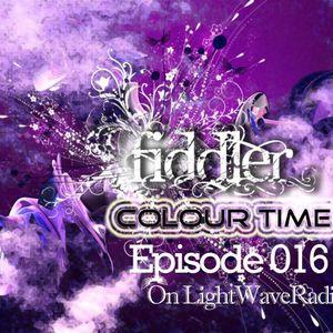 Fiddler - Colour Time (Episode 016) On LightWaveRadio(2012.04.29)