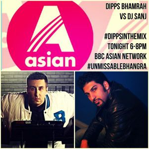 Dipps Bhamrah vs DJ Sanj - #DippsInTheMix (September 2015)
