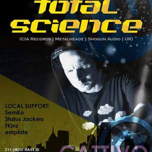 Boss Music Presents: Total Science - Promo Mix #1 (mixed by emplate)