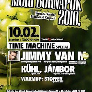 Jambor live @ Time Machine Special - 20101002