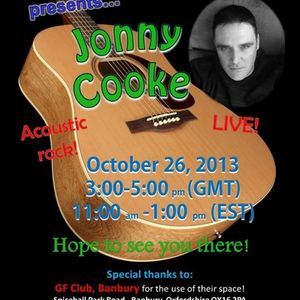 Dj Readmans Variety Show: Special Guest, Jonny Cooke: Chat and performance