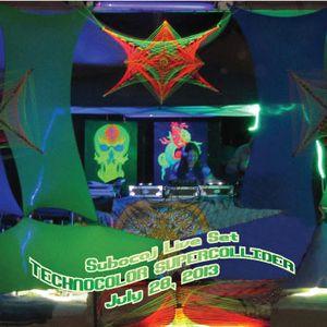 Subocaj - Live extended set at Technocolor Supercollider July 28 2013