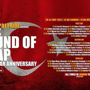 D.E.V.A.A - [ Guest @ Sound of Trap 1st Anniversary)on Pure.fm(july'12)