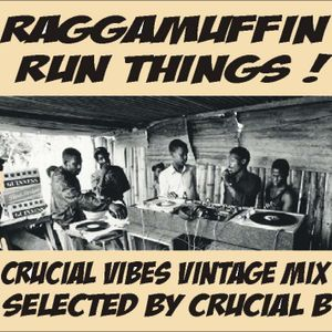 Crucial Vibes Soundsystem - Raggamuffin run things! Vintage Mix