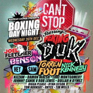 Hey Sam • Cant Stop Boxing Night Promo