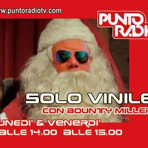 Bounty Miller Verrina con SOLO VINILE 29 su Punto Radio Bologna
