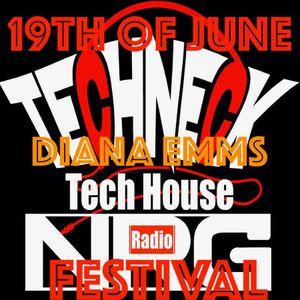 DIANA EMMS - [TECHNECK NRG RADIO FEST - EXCLUSIVE]