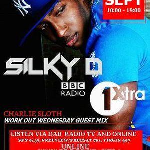DJ SILKY D - SEPT 2015 #WORKOUTWEDNESDAY GUEST MIX ON BBC 1XTRA