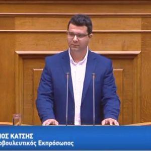 Ο επανεκλεγείς βουλευτής ΣΥΡΙΖΑ Θεσπρωτίας Μάριος Κάτσης, στην ΕΡΤ Ιωαννίνων 11/07/2019