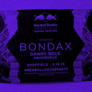 Redbull House Party, Sheffield w/ Bondax 8/10/13 (Live)