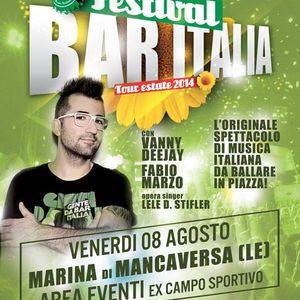 Festival Bar Italia Mancaversa 8 agosto 2014 - diretta Radio System