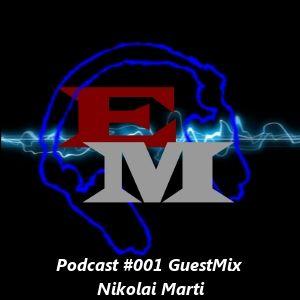 Electronic Mind Podcast #001 GuestMix Nikolai Marti (30-06-2012)