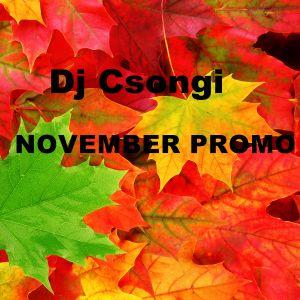 Dj Csongi - November Pormotional Mix(Evolution #1)