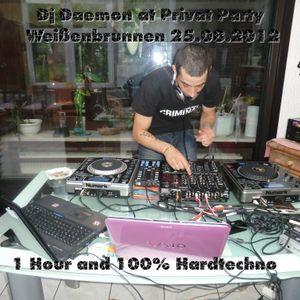 DjDaemon @ Privat Party Weißenbrunnen 25.08.2012