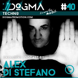 Alex Di Stefano - Techno Live Set // Dogma Techno Podcast [June 2015]