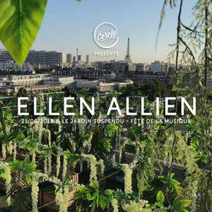 Ellen Allien Live Le Jardin Suspendu Paris France 21 06 2018