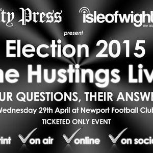 Hustings Live: Ageing Population