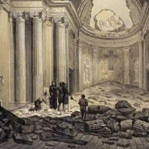 7 y 10 de abril de 1845. Sismos