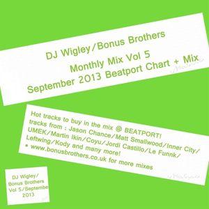 DJ Wigley September Mix Beatport 2013 vol 5
