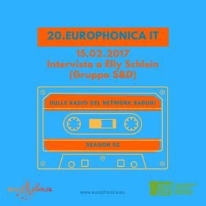 Elly Schlein ai microfoni di Europhonica #IT 15.02.2017