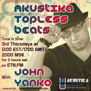Kirill Pchelin guestmix - Akustika Topless Beats 31 - September 2010
