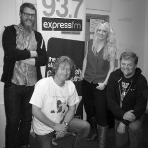 Russell Hill's Country Music Show on Express FM feat. Lucy Ellie & The Hophead Band. 01/05/16