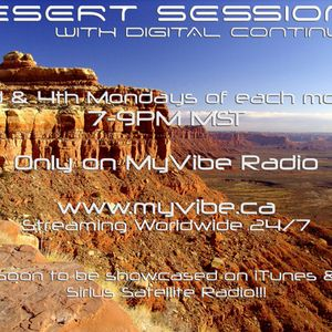 Desert Sessions 002 On MyVibe Radio 8-27-07