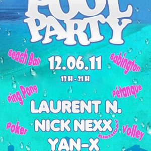 LAURENT N. DJ SET (LIVE) @ PARADOX POOL PARTY 2 (12-06-2011)