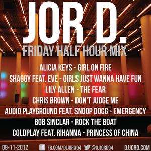 Friday Half Hour Mix 09-11-12