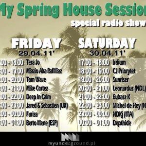CJ Priority - My Spring House Session (30.04.2011) @ MyUnderground.pl