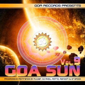 Goa Sun 9 (CD 1) [Compiled By Pulsar & Axell Astrid]