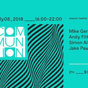 Simon Alaya @ Communion 2018