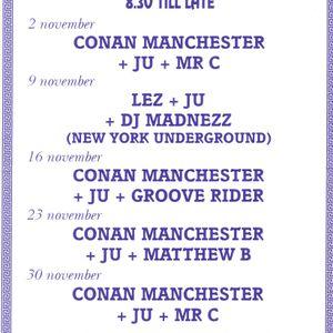 Matthew B & MC Martin @ The Barn in Braintree 1990