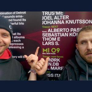 Thom E and Lars S Livecut @ Tresor Berlin 05.04.2014