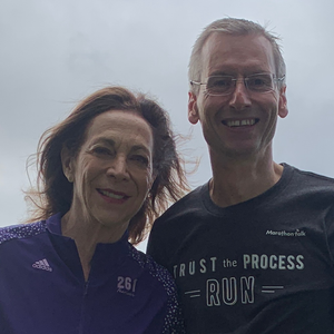 Kathrine Switzer interviewed by Chris Eggett