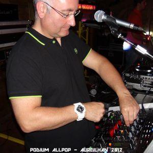 Podium ALLPOP & DJ 1-3 iB - Aureilhan - Before Julien BAY - VEN 03 08 2012