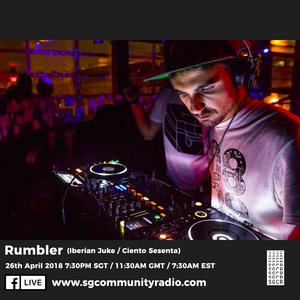 SGCR Radio Show #56 - 26.04.2018 Episode Part 1 ft. Rumbler (Iberian Juke/Ciento Sesenta)