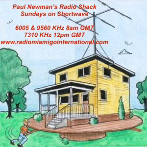 Paul Newman's Radio Shack, Sun 3rd July 2016 on Radio Mi Amigo International (6005 KHz)