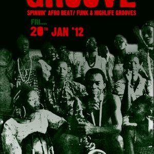 Funkikora Present Afro Groove Jan'2012 session part1