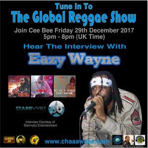 Cee Bee Global Reggae Show 078 29-12-2017