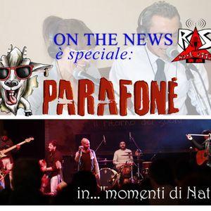 ON  THE NEWS Puntata 27 dicembre 2014