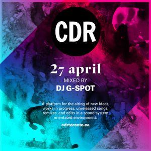Open CDR Toronto Mix  April 2017