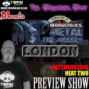 The Squatter Spot on TBFM Online (22-11-2015 M2TMLDN2016 Heat 2 Preview)